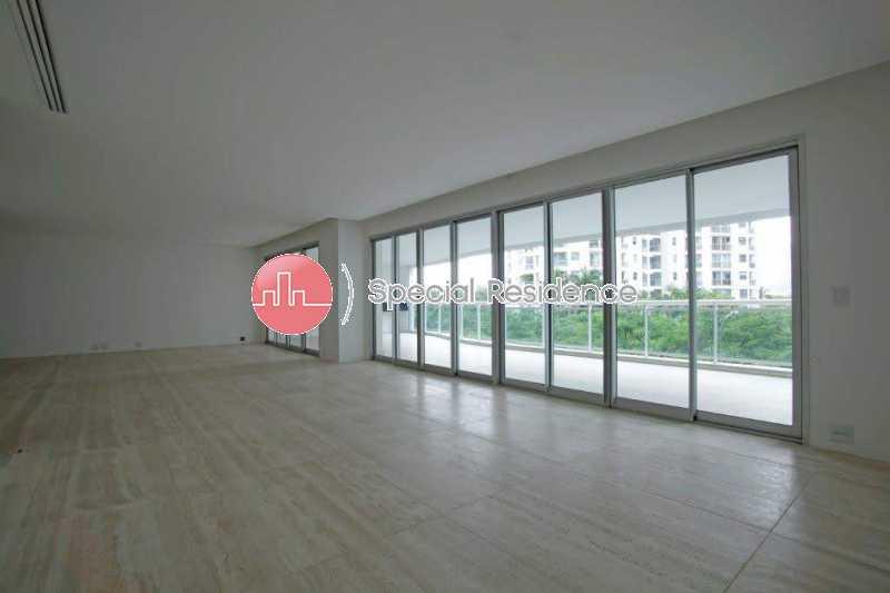 03_Sala - Apartamento 4 quartos à venda Barra da Tijuca, Rio de Janeiro - R$ 2.600.000 - 400275 - 4