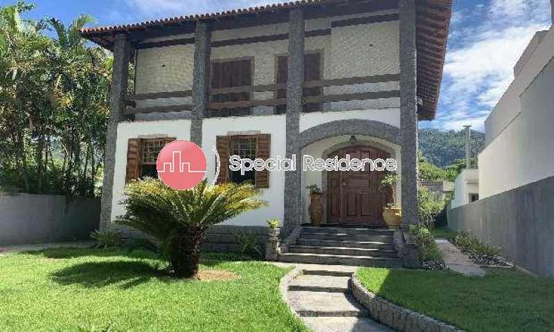 024925026137156 - Casa em Condomínio 4 quartos à venda Itanhangá, Rio de Janeiro - R$ 2.900.000 - 600246 - 1
