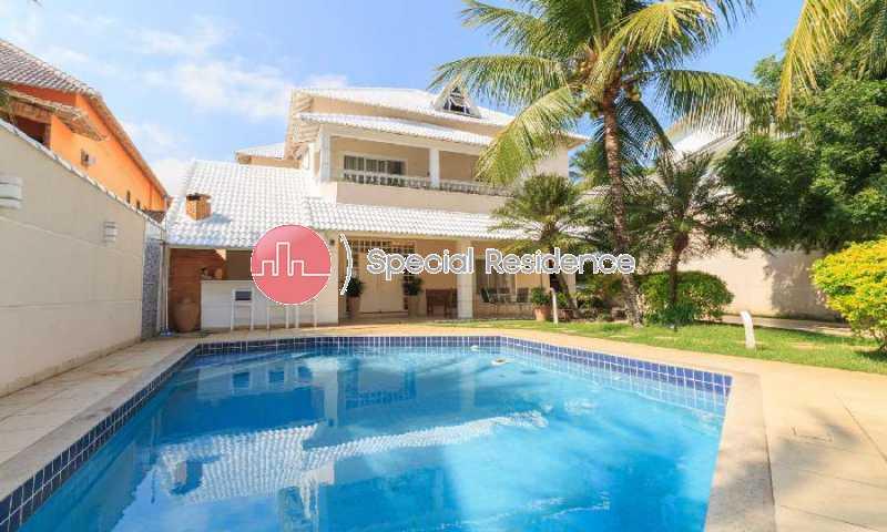 70e232cb-6bc0-41de-a6be-002735 - Casa em Condomínio 5 quartos à venda Barra da Tijuca, Rio de Janeiro - R$ 4.200.000 - 600257 - 1