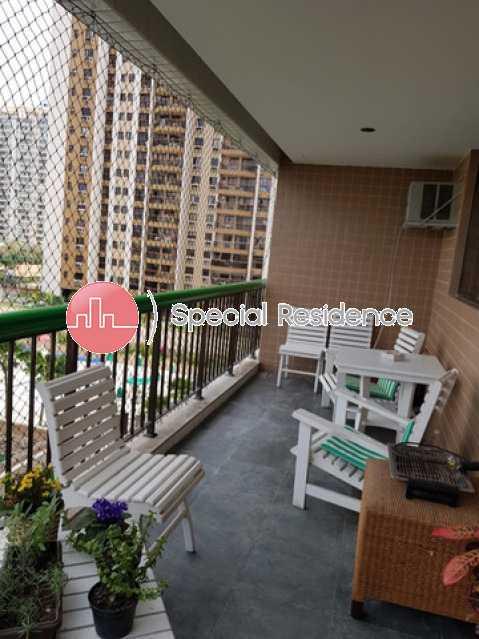 391050333160854 - Apartamento 1 quarto para alugar Barra da Tijuca, Rio de Janeiro - R$ 2.800 - LOC100469 - 1