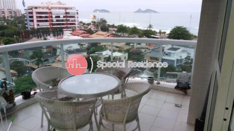 368197757570944 - Apartamento 1 quarto para alugar Barra da Tijuca, Rio de Janeiro - R$ 3.500 - LOC100481 - 3