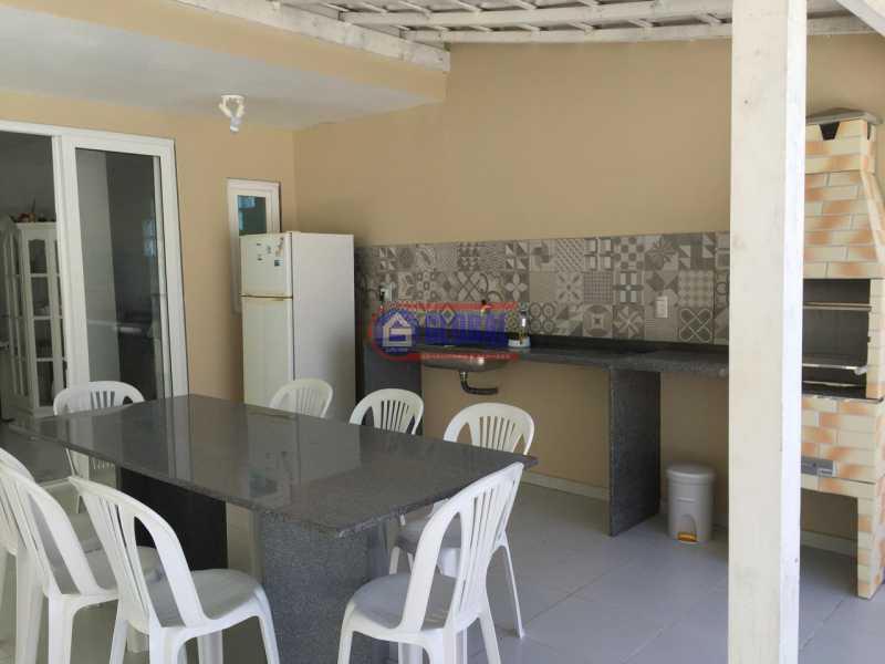 Área de Lazer - Espaço Gourmet - Casa À Venda - Guaratiba - Maricá - RJ - MACA20084 - 26