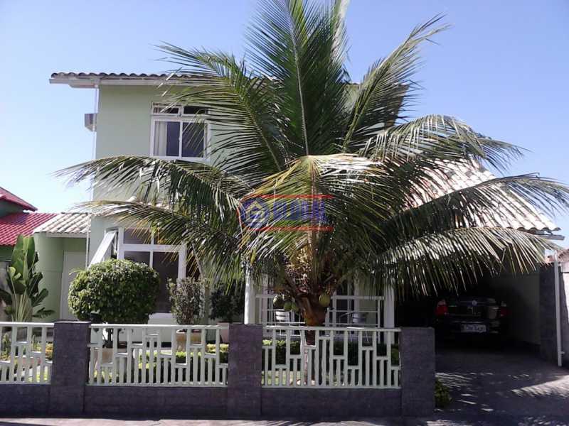 Frente casa - Casa em Condominio À VENDA, São José do Imbassaí, Maricá, RJ - MACN40010 - 1