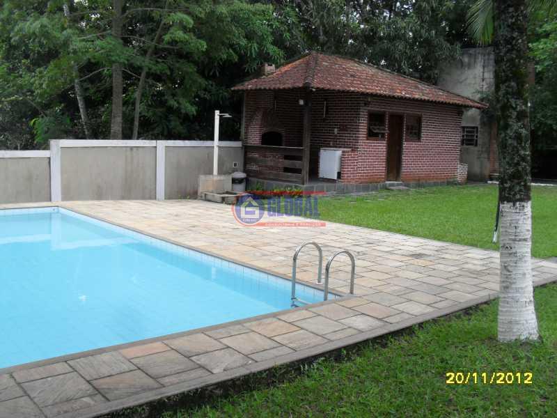 Área Piscina e Churrasqueira  - Casa em Condomínio 4 quartos à venda Maria Paula, Niterói - R$ 580.000 - MACN40012 - 21