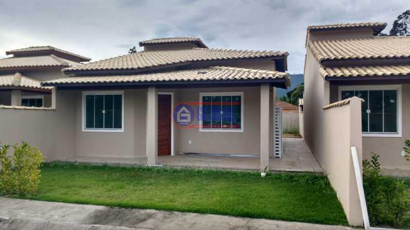 1 - Casa em Condomínio 2 quartos à venda Bananal (Ponta Negra), Maricá - R$ 215.000 - MACN20061 - 1