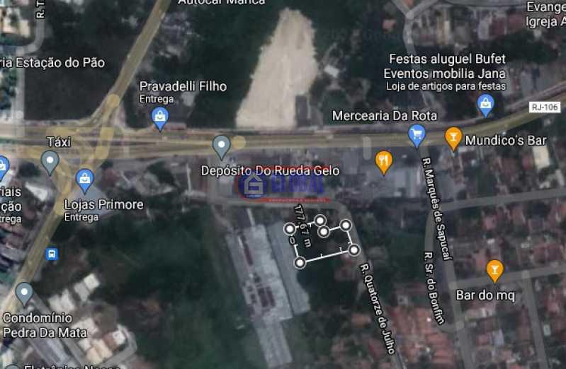 Área - Terreno 1891m² à venda Marquês de Maricá, Maricá - R$ 600.000 - MAUF00353 - 4