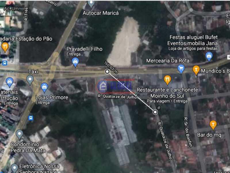 Localização - Terreno 1891m² à venda Marquês de Maricá, Maricá - R$ 600.000 - MAUF00353 - 5