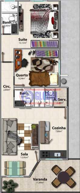 bb33537f-ff18-4a78-b7de-657b1c - Casa 2 quartos à venda São José do Imbassaí, Maricá - R$ 310.000 - MACA20463 - 3