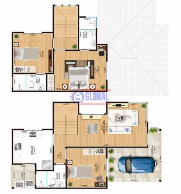 5f1e5b6d-ec7d-4d0c-868c-5f967a - Casa em Condomínio 3 quartos à venda Pindobas, Maricá - R$ 410.000 - MACN30133 - 3