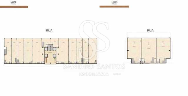 planta loja - Fachada - Frames Residence - 31 - 29