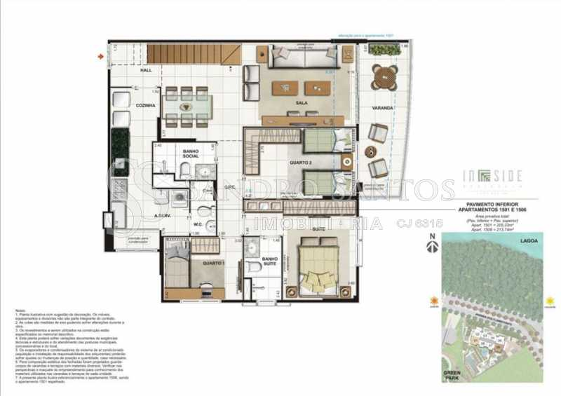 PLANTA. - Fachada - In Side Península Home Design - 373 - 9