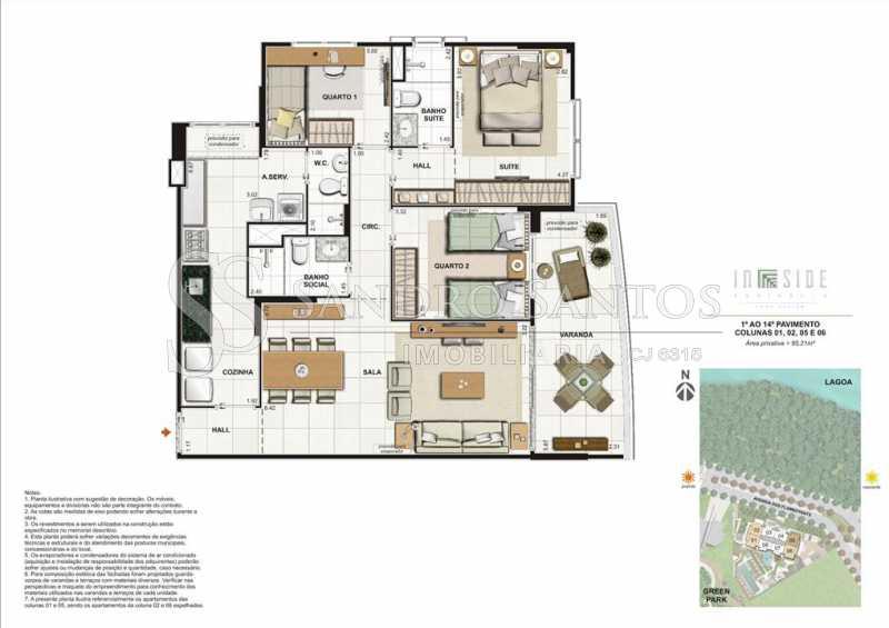 PLANTA - Fachada - In Side Península Home Design - 373 - 10