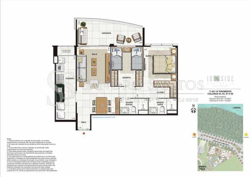 PLANTAS - Fachada - In Side Península Home Design - 373 - 12