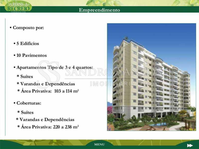 jardins-do-recreio-apresentaca - Apartamento À Venda no Condomínio JARDINS DO RECREIO - Recreio dos Bandeirantes - Rio de Janeiro - RJ - SSAP30606 - 26