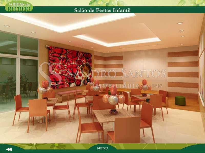 jardins-do-recreio-apresentaca - Apartamento À Venda no Condomínio JARDINS DO RECREIO - Recreio dos Bandeirantes - Rio de Janeiro - RJ - SSAP30606 - 35
