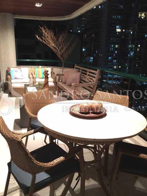 4. - Apartamento À Venda no Condomínio VILLA FIRENZE - BARRA BONITA - Recreio dos Bandeirantes - Rio de Janeiro - RJ - SSAP40208 - 5