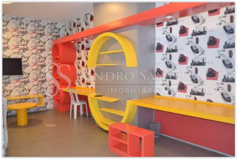 N - Apartamento À Venda no Condomínio VILLA FIRENZE - BARRA BONITA - Recreio dos Bandeirantes - Rio de Janeiro - RJ - SSAP40208 - 36