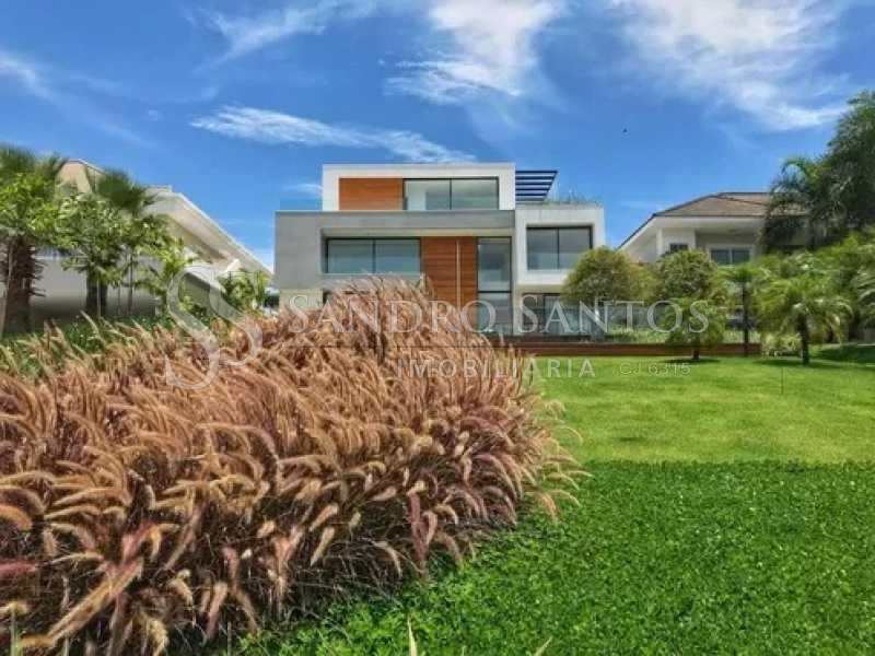 2 - Casa À Venda no Condomínio Mansões - Barra da Tijuca - Rio de Janeiro - RJ - SSCN50090 - 3