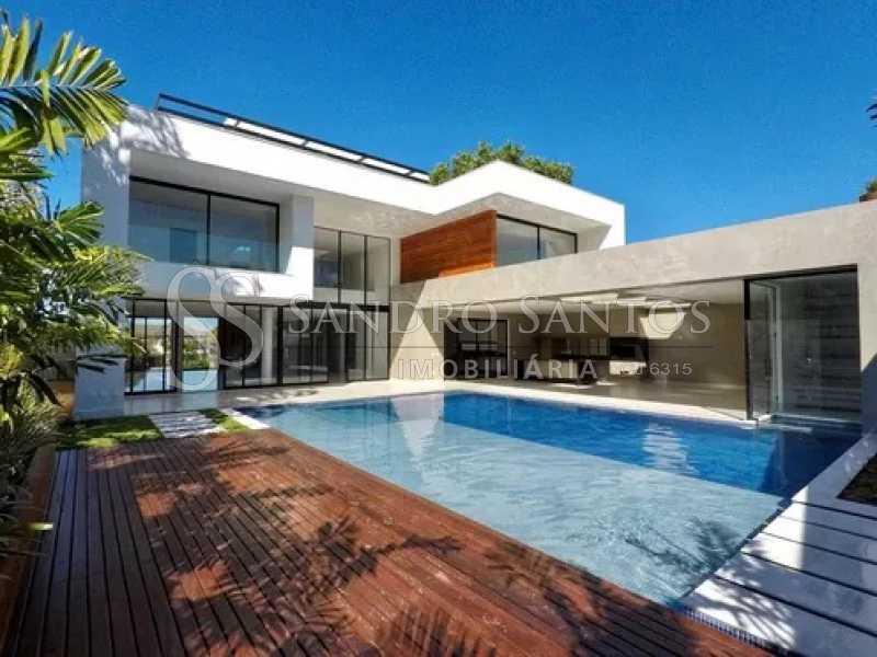 7 - Casa À Venda no Condomínio Mansões - Barra da Tijuca - Rio de Janeiro - RJ - SSCN50090 - 8