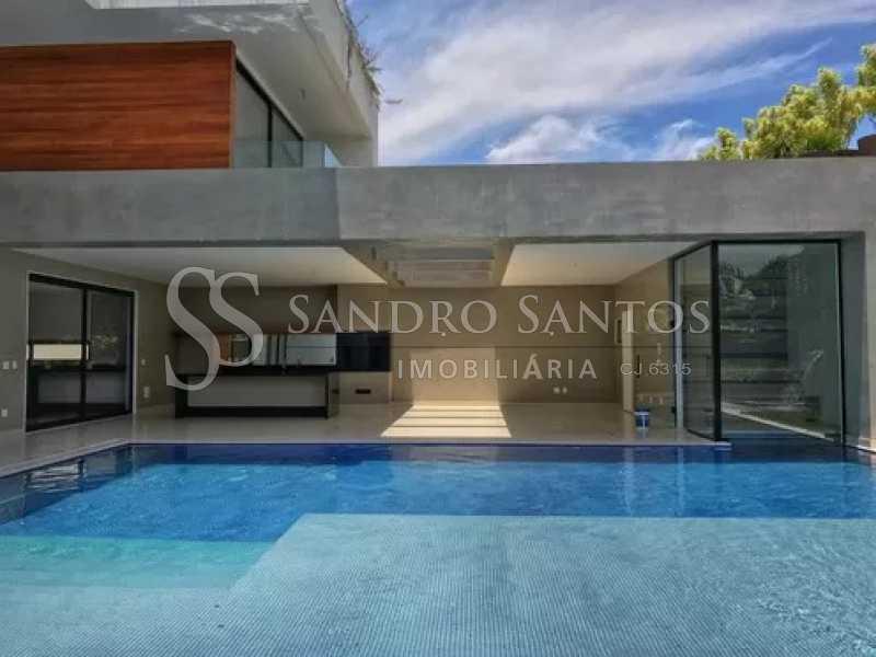 11 - Casa À Venda no Condomínio Mansões - Barra da Tijuca - Rio de Janeiro - RJ - SSCN50090 - 12
