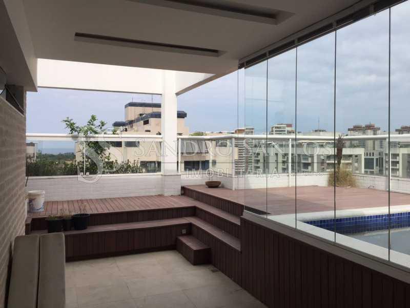SS IMOB 7. - Cobertura Para Venda ou Aluguel no Condomínio SANTA MÔNICA - Barra da Tijuca - Rio de Janeiro - RJ - SSCO40072 - 3