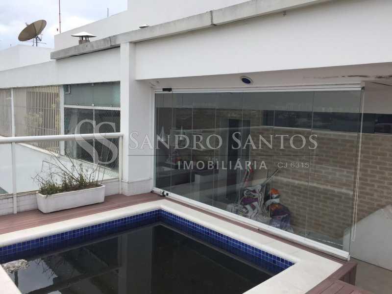SS IMOB 10. - Cobertura Para Venda ou Aluguel no Condomínio SANTA MÔNICA - Barra da Tijuca - Rio de Janeiro - RJ - SSCO40072 - 8