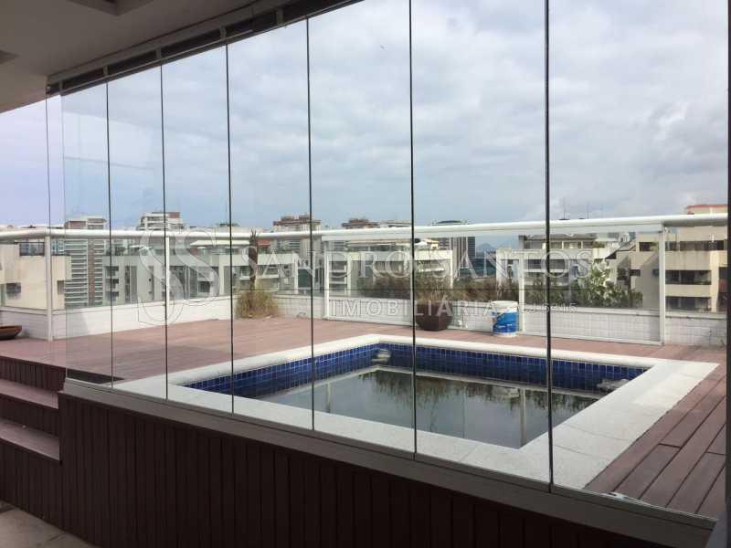 SS IMOB 13. - Cobertura Para Venda ou Aluguel no Condomínio SANTA MÔNICA - Barra da Tijuca - Rio de Janeiro - RJ - SSCO40072 - 14