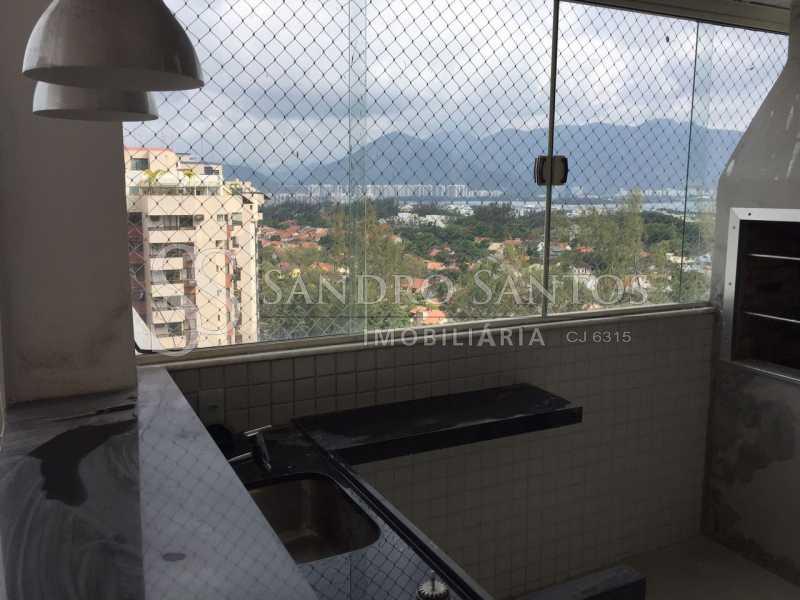 SS IMOB 14. - Cobertura Para Venda ou Aluguel no Condomínio SANTA MÔNICA - Barra da Tijuca - Rio de Janeiro - RJ - SSCO40072 - 15