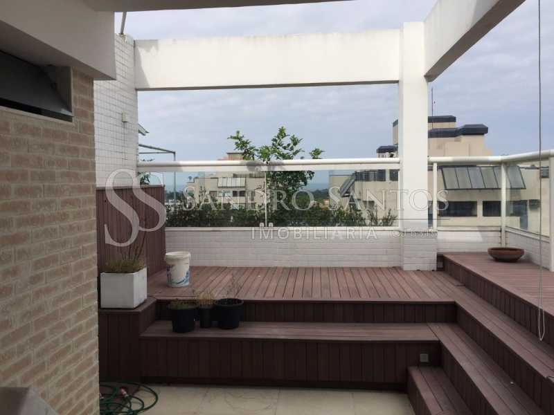 SS IMOB 15. - Cobertura Para Venda ou Aluguel no Condomínio SANTA MÔNICA - Barra da Tijuca - Rio de Janeiro - RJ - SSCO40072 - 16