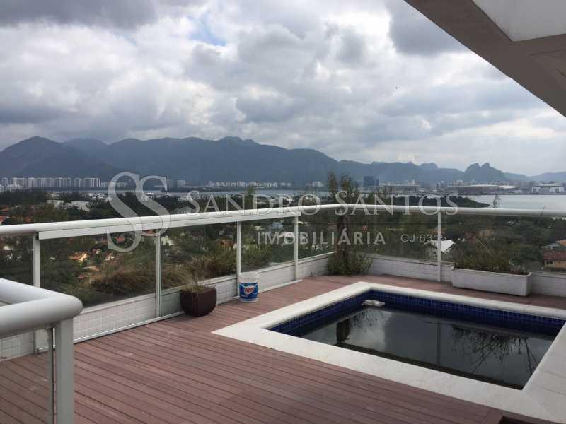 SS IMOB 16. - Cobertura Para Venda ou Aluguel no Condomínio SANTA MÔNICA - Barra da Tijuca - Rio de Janeiro - RJ - SSCO40072 - 17