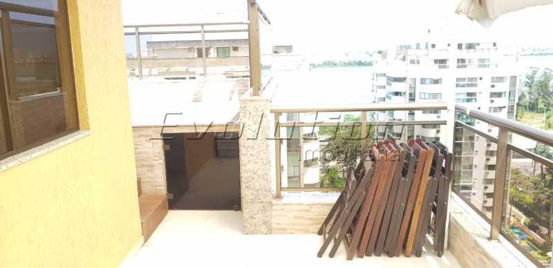 Ev 11. - Cobertura À Venda no Condomínio RESIDENCIAL SICÍLIA - Barra da Tijuca - Rio de Janeiro - RJ - SSCO30132 - 13