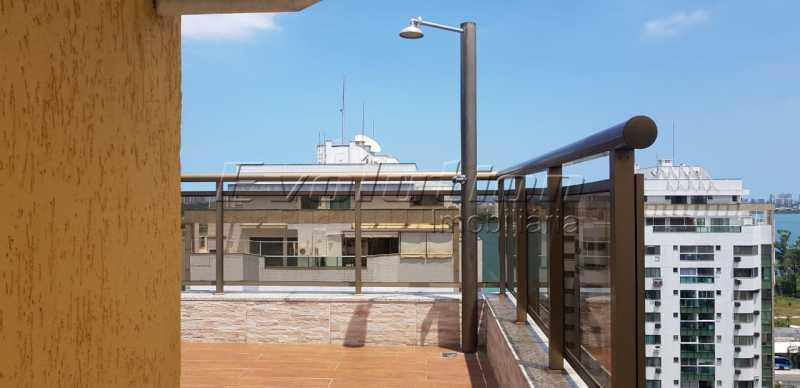 Ev 15. - Cobertura À Venda no Condomínio RESIDENCIAL SICÍLIA - Barra da Tijuca - Rio de Janeiro - RJ - SSCO30132 - 7