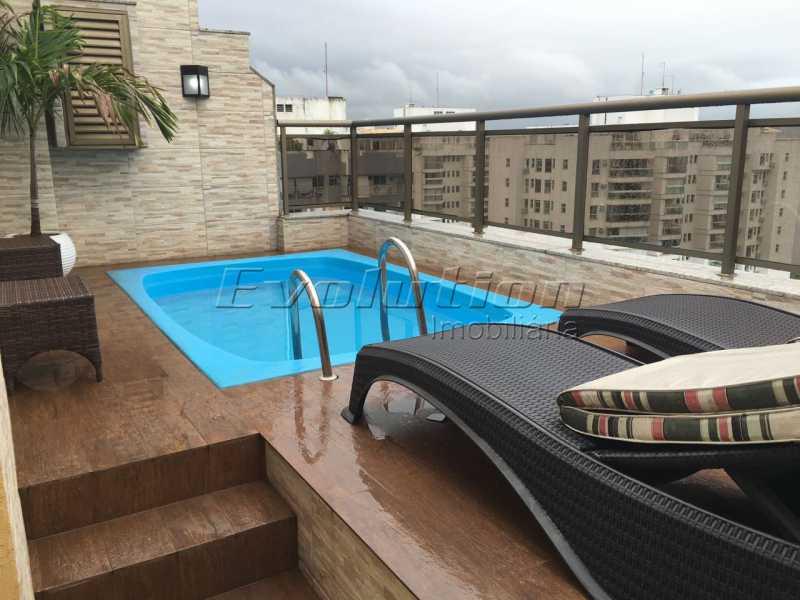 Evolution 13. - Cobertura À Venda no Condomínio RESIDENCIAL SICÍLIA - Barra da Tijuca - Rio de Janeiro - RJ - SSCO30132 - 4