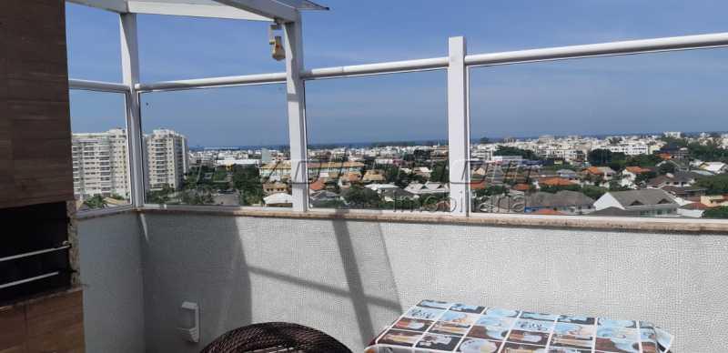 EV 11. - Cobertura 3 quartos à venda Recreio dos Bandeirantes, Zona Oeste,Rio de Janeiro - R$ 1.100.000 - SSCO30146 - 16