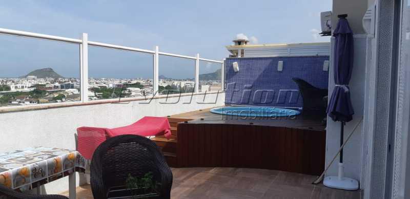 EV 17. - Cobertura 3 quartos à venda Recreio dos Bandeirantes, Zona Oeste,Rio de Janeiro - R$ 1.100.000 - SSCO30146 - 22