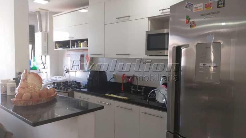 Cozinha americana. - VENDO COBERTURA - RECREIO DOS BANDEIRANTES - RIO DE JANEIRO - RJ - ERCO30008 - 5