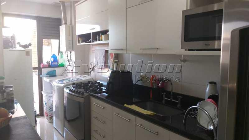 Cozinha. - VENDO COBERTURA - RECREIO DOS BANDEIRANTES - RIO DE JANEIRO - RJ - ERCO30008 - 6