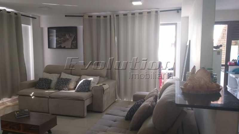Sala foto 3. - VENDO COBERTURA - RECREIO DOS BANDEIRANTES - RIO DE JANEIRO - RJ - ERCO30008 - 1