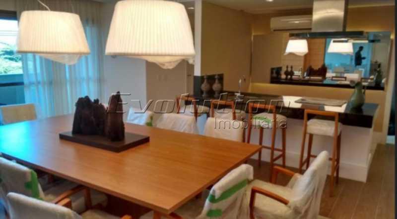 Salão de festas gourmet. - VENDO COBERTURA - RECREIO DOS BANDEIRANTES - RIO DE JANEIRO - RJ - ERCO30008 - 22
