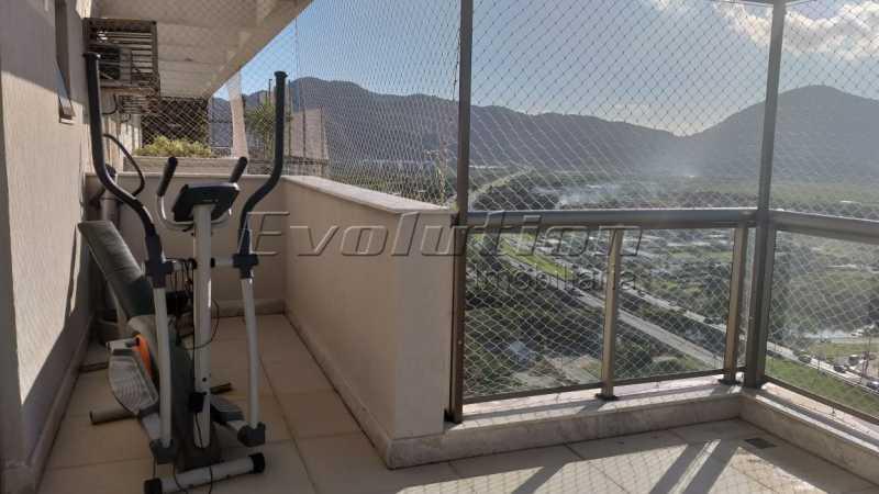 Terraço foto 2. - VENDO COBERTURA - RECREIO DOS BANDEIRANTES - RIO DE JANEIRO - RJ - ERCO30008 - 18