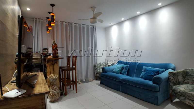Sala foto 1. - APARTAMENTO PARA VENDA - RECREIO DOS BANDEIRANTES - RIO DE JANEIRO - ERAP30015 - 1