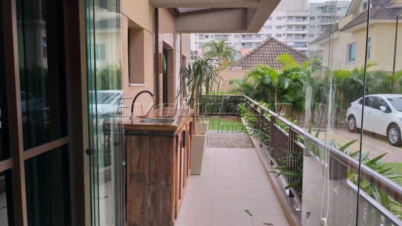 Varanda foto 3 - APARTAMENTO PARA VENDA - RECREIO DOS BANDEIRANTES - RIO DE JANEIRO - ERAP30015 - 15