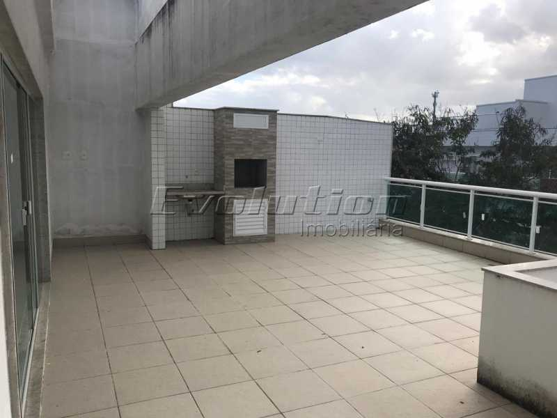 EV 1. - Cobertura 3 quartos à venda Recreio dos Bandeirantes, Zona Oeste,Rio de Janeiro - R$ 1.580.000 - ERCO30009 - 1