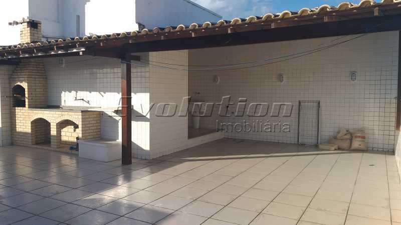 Churrasqueira foto 2 - COBERTURA A VENDA - RECREIO DOS BANDEIRANTES - RIO DE JANEIRO - ERCO40006 - 23