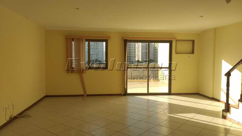 Sala foto 1 - COBERTURA A VENDA - RECREIO DOS BANDEIRANTES - RIO DE JANEIRO - ERCO40006 - 4