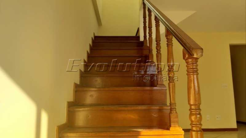 Escada para cobertura. - COBERTURA A VENDA - RECREIO DOS BANDEIRANTES - RIO DE JANEIRO - ERCO40006 - 5