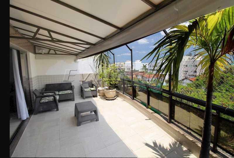 EV 4. - Cobertura 3 quartos à venda Recreio dos Bandeirantes, Zona Oeste,Rio de Janeiro - R$ 1.250.000 - ERCO30012 - 1