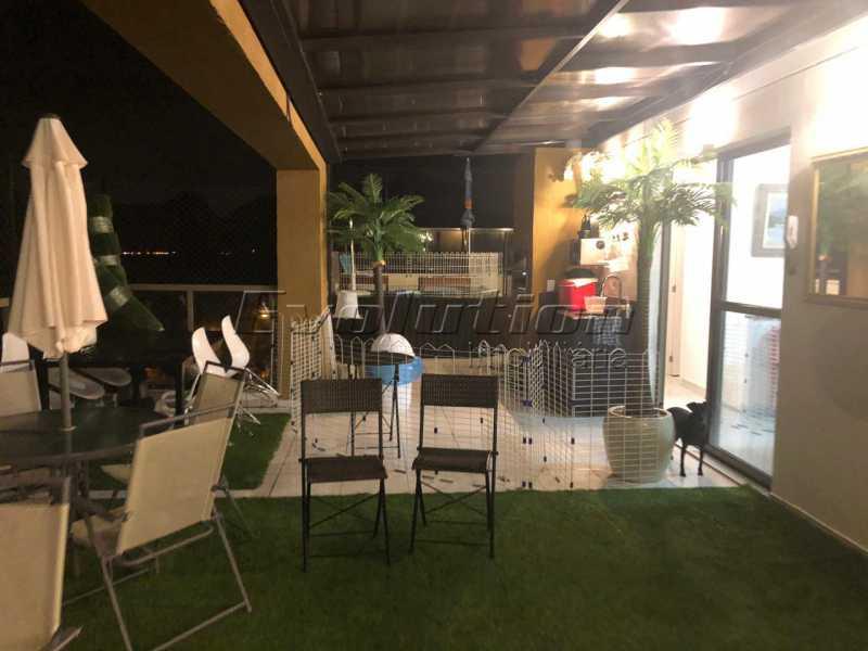 EV 14. - Cobertura 3 quartos à venda Recreio dos Bandeirantes, Zona Oeste,Rio de Janeiro - R$ 950.000 - ERCO30016 - 1