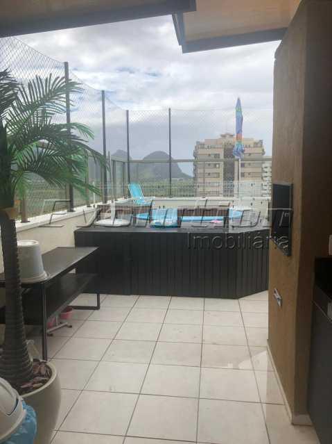 EV 16. - Cobertura 3 quartos à venda Recreio dos Bandeirantes, Zona Oeste,Rio de Janeiro - R$ 950.000 - ERCO30016 - 14