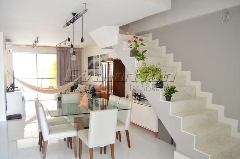 DSC_0051 - Casa em Condomínio 3 quartos à venda Recreio dos Bandeirantes, Zona Oeste,Rio de Janeiro - R$ 1.350.000 - EBCN30003 - 5